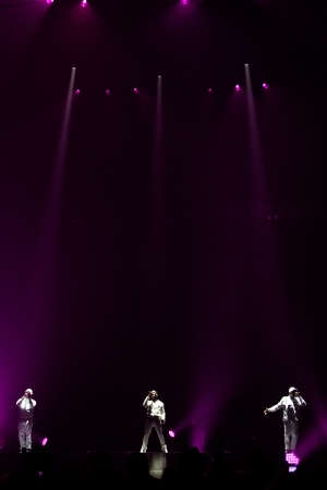 stockman: MONTREAL, CANADA, June 6, 2013, Boyz II Men in concert at Bell Center for the Package Tour