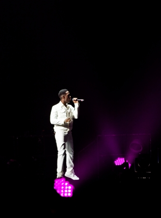 morris: MONTREAL, CANADA, June 6, 2013, Boyz II Men in concert at Bell Center for the Package Tour