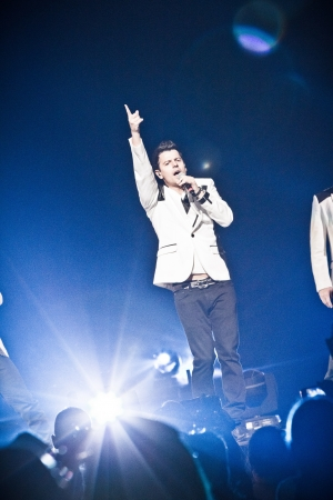 MONTREAL, CANADA, June 6, 2013, The NKOTB in concert at Bell Center for the Package Tour