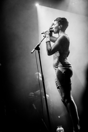 Montreal, Canada, October 15, 2013: Bonobo in Concert at the Metropolis.