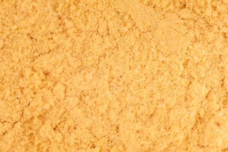 Extreme Macro Closeup of Mustard Powder texture photo