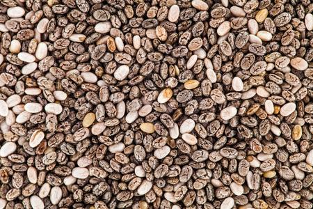 Extreme Closeup macro Texture of Chia Seeds - Studio Shot