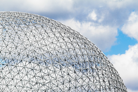 spatial: Montreal Biosphere Structure details and Clouds