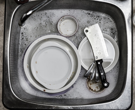 house ware: After the Dinner its time to do the Dishes !