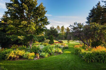 Beautiful Front Yark Garden and Grass