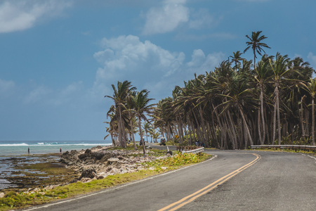 San Andres Road During Beautoful Sunny day