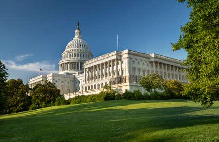 United States Capitol and the Senate Building, Washington DC USA