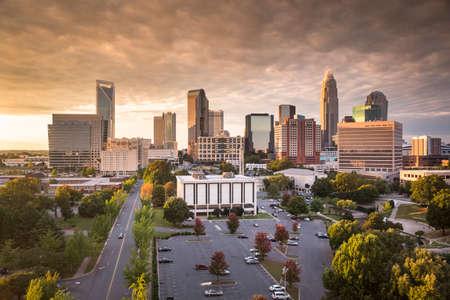 Charlotte North Carolina, Mecklenburg County, USA