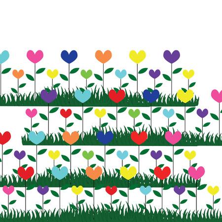 pedicle: flower in graden