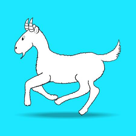 goat vector Vector