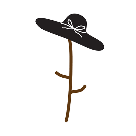 woman hat Vector