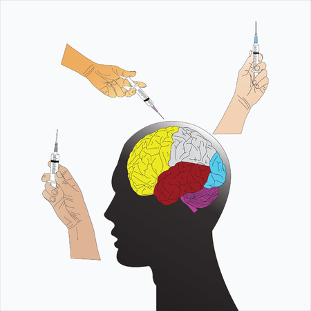 insulin syringe: Keeping brain thinking