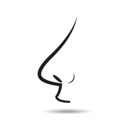 nose vector Vector