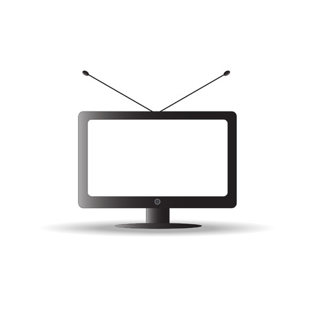 TV icon vector Vector