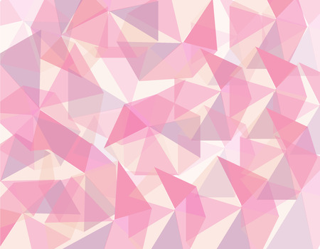 Abstract pink geometrical background. vector