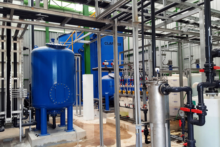 Reverse Osmosis Water System for Power Plant Steam Turbine