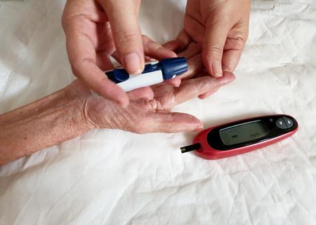 Blood Glucose Test : blood glucose monitor
