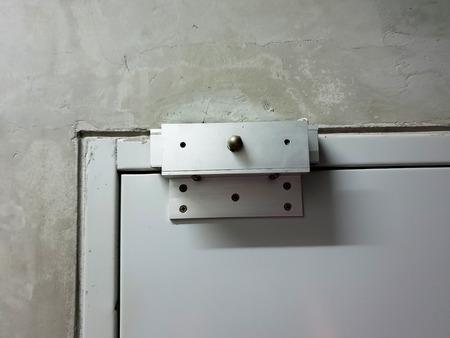 Magnetic Door Lock close up Фото со стока