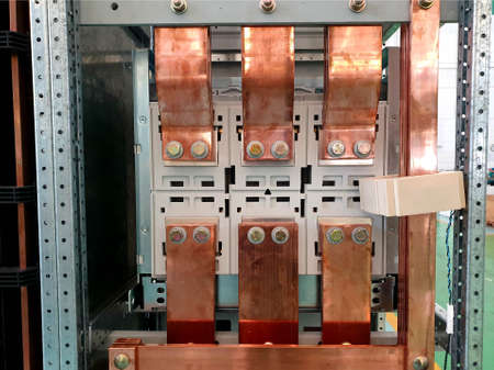 Electrical Bus Bar of MCC Main Circuit Breaker