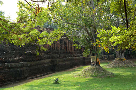 Wat Khlong, the 6th century Dvaravati culture at Khu Bua Ratchaburi, Thailand