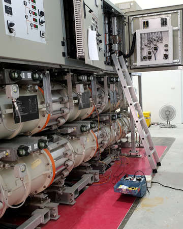 115kV Gas Insulated Substation : Electrical PT loop test