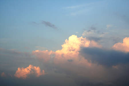 Sunset clouds in the sky backgrounds