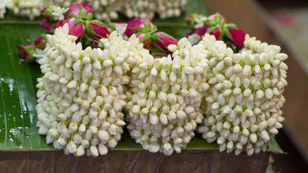 Hand garlands for sale in Thailand