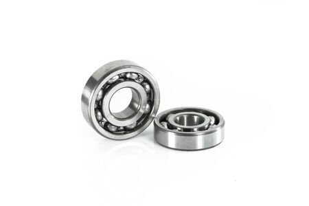 dialectic: ball bearing, isolated over white