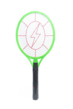 fumigador: direcci�n de bateo mosquito aislado en un fondo blanco