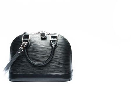 luxury women handbag isolated on a white background Stock Photo - 29012669