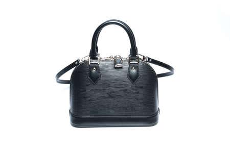 luxury women handbag isolated on a white background Stock Photo - 29012726