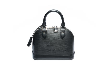 luxury women handbag isolated on a white background Stock Photo - 29203289