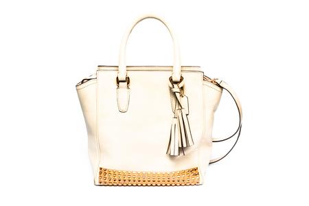 luxury women handbag isolated on a white background Stock Photo - 29203302