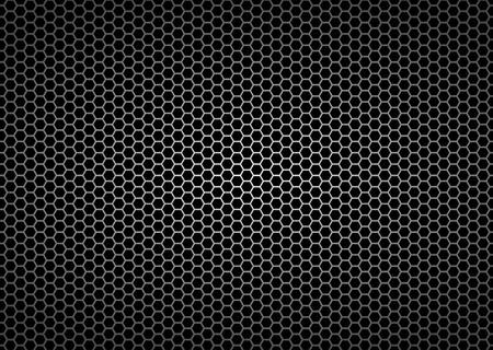 連続図の金属格子のシームレスなパターン背景  イラスト・ベクター素材