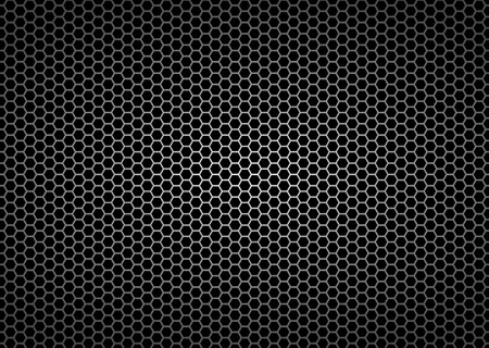 Metal grid seamless pattern background for continuous, illustration