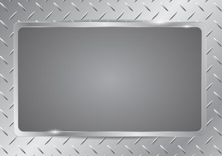lamiera metallica: Lamiera pattern texture di sfondo Vettoriali
