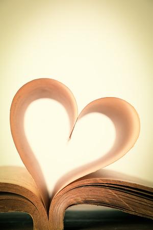 Le livre de l'amour, vendange Banque d'images - 34290092