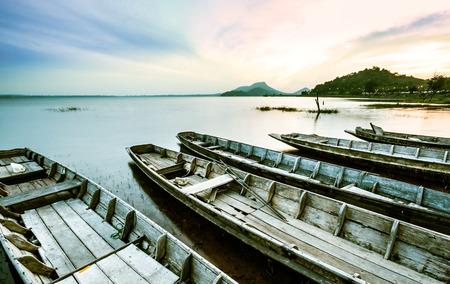 broken hill: Sunset Bang Pra Reservoir, Chonburi, Thailand.