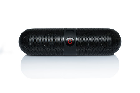 Bluetooth speaker on a white background