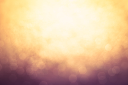 sun light: Abstract Blur of blurred lights with bokeh effect Backgrounds design