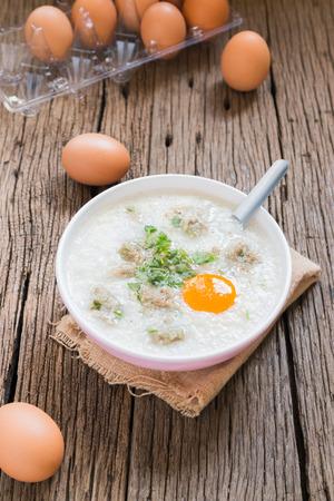 congee, rice gruel