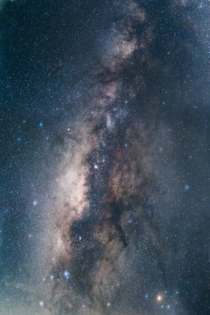 milky way galaxy: The Milky Way galaxy. From Pa Hin Ngam National Park. Chaiyaphum Thailand