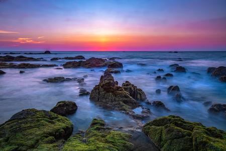 Beautiful Landscape Pilai beach, Phang-Nga , Thailand 写真素材