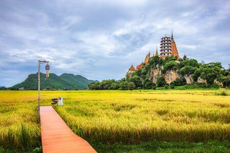 Tiger Cave Temple, Wat Tham Sua in Kanchanaburi, thailand.