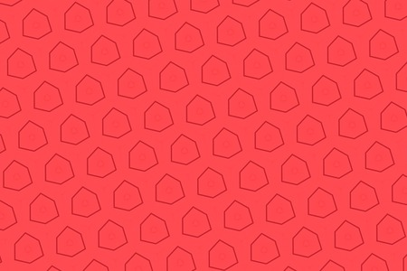 scarlet: Patterns on a red background.3
