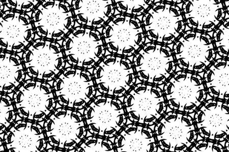 black and white: White and black patterns. 13