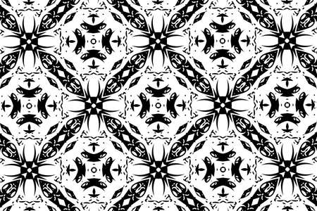 black and white: White and black patterns. 5