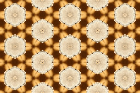 light brown: Light brown ornament with patterns.5 Stock Photo