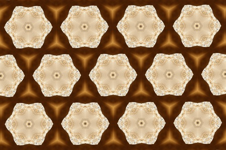light brown: Ornament with light brown patterns. 18