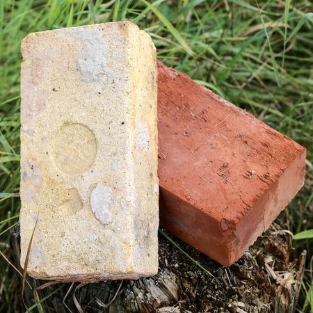 Refractory bricks. 2 Stock Photo